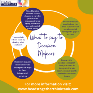 What to say to Decision Makers
